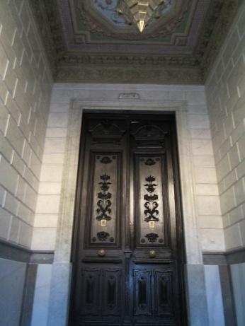 Hall de entrada. Palacio de los duques de Gor. Realejo