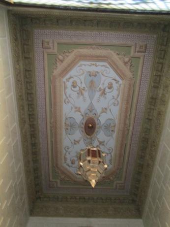 Pinturas murales del hall de entrada al palacio de los duques de Gor. Realejo