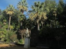 Carmen de los Mártires. Jardín de las palmeras. Granada. Foto: Francisco López