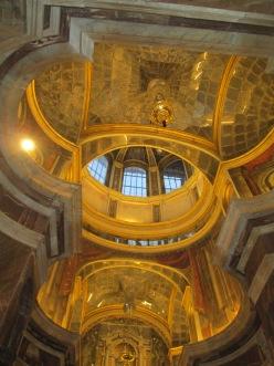 Camarín de la Virgen del Rosario. Antecámara. Foto: Francisco López