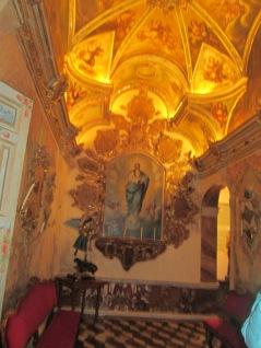 Camarín de la Virgen del Rosario. Sala de la Inmaculada. Foto: Francisco López
