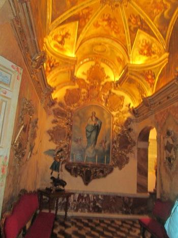 Camarín de la Virgen del Rosario. Santo Domingo 006