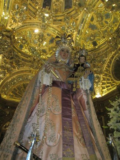 Camarín de la Virgen del Rosario. Santo Domingo 008