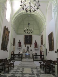 Capilla del convento de Sta. Catalina. Realejo. Foto: Francisco ópez