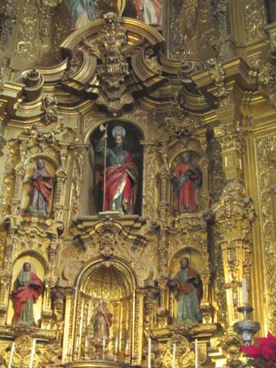 Detalle del Retablo. Iglesia de San Matías. Foto: Francisco López