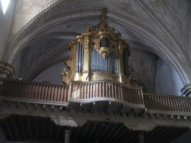 Órgano Barroco. Iglesia de San Matías. Foto: Francisco López