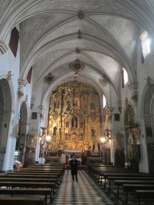 Interior. Iglesia de San Matías. Foto: Francisco López