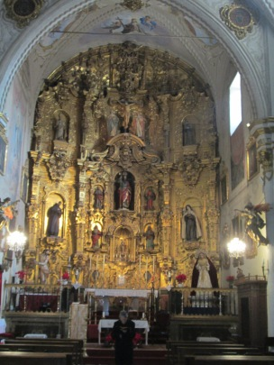 Retablo. Iglesia de San Matías. Foto: Francisco López