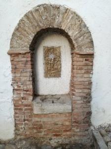 Pilar del Vía Crucis. Granada
