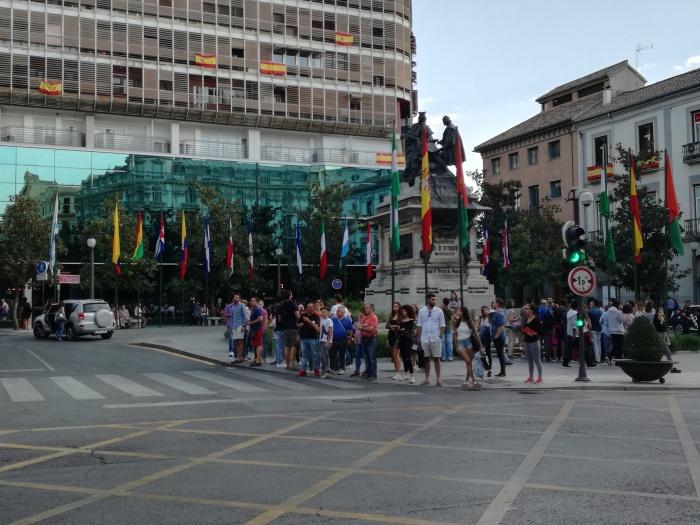 Plaza de Isabel la Católica. Granada