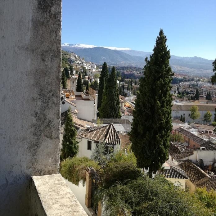 Vista desde el carmen Rodríguez-Acosta. Foto: Francisco López