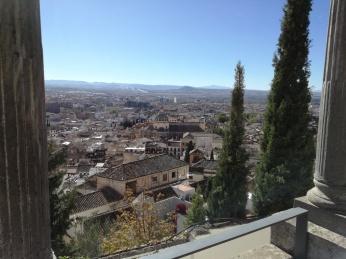 Vista del realejo desde el Carmen Rodríguez-Acosta. Foto: Francisco López