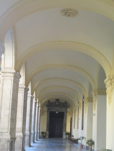 Galería. Santa Cruz la Real. Granada. Foto: Francisco López
