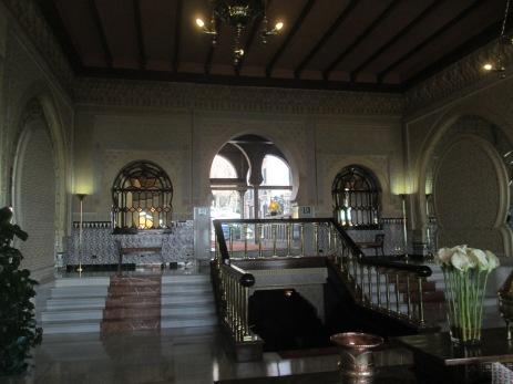 Hotel Alhambra Palace. Hall. Granada. Foto: Francisco López