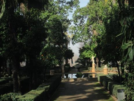 Carmen de los Mártires. Jardín francés. Granada. Foto: Francisco López