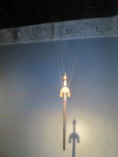 Sala nazarí. Réplica de la espada de Boabdil. Casa de los Tiros. Foto: Francisco López