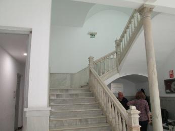 Escaleras. Palacio de los condes de Gabia. Granada. Foto: Francisco López