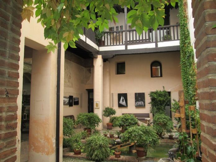 Patio. Casa de los Girones. Granada. Foto: Francisco López