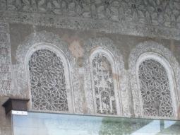 Decoración de la fachada interior. Casa de los Girones. Granada. Foto: Francisco López