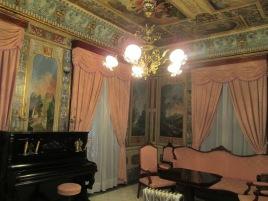 Cuarto Rojo. Palacio de los marqueses de Villaalegre. Foto: Francisco López