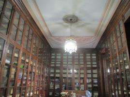 Biblioteca del palacio de los duques de gor. Foto: Francisco López