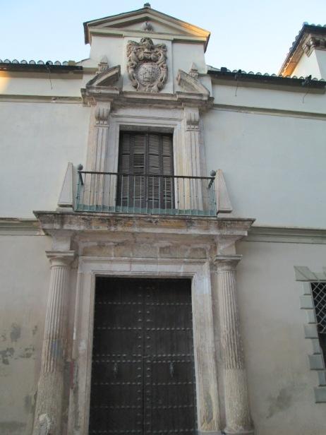 Palacio de los Marqueses de Cartagena Portada barroca. Foto: Francisco López