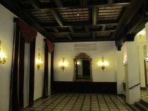 Carmen de los Mártires. Salón inferior del palacete. Granada. Foto: Francisco López