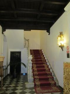 Carmen de los Mártires. Escalera del palacete. Granada. Foto: Francisco López