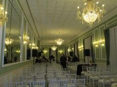 Carmen de los Mártires.Salón superior 2 del palacete. Granada. Foto: Francisco López