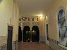 Carmen de los Mártires.Hall y patio nazarí2 del palacete. Granada. Foto: Francisco López