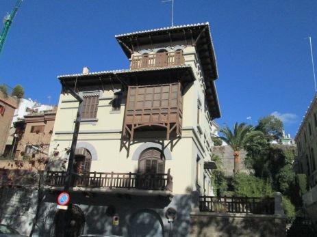 Casas burguesas en el Paseo de la Bomba