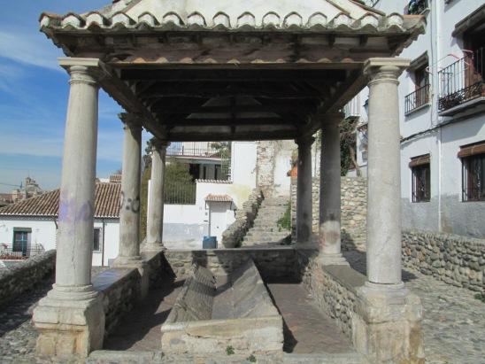 Lavadero Placeta Puerta del Sol. Realejo. Granada