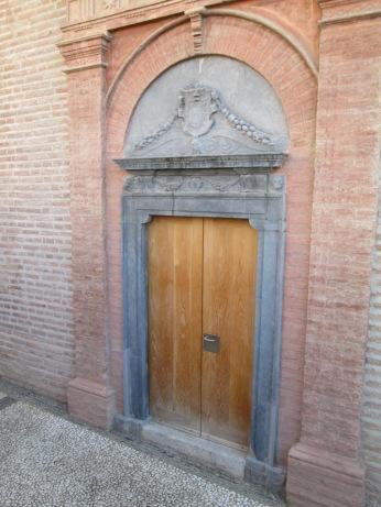 Portada de la capilla. Palacio del Almirante. Realejo. Foto: Francisco López