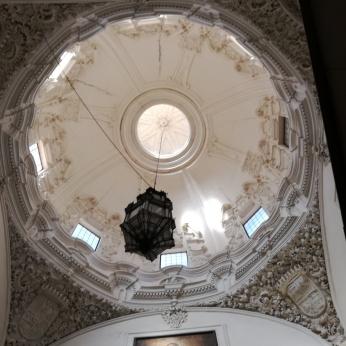 Monasterio de San Jerónimo. Cúpula de la escalera. Granada. Foto: FranciscoLópez