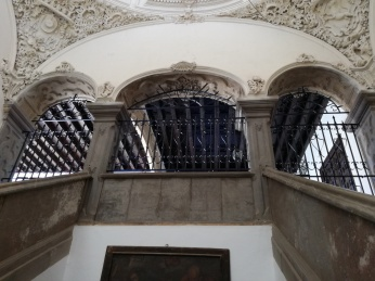 Monasterio de San Jerónimo. Escalera. Granada. Foto: Francisco López