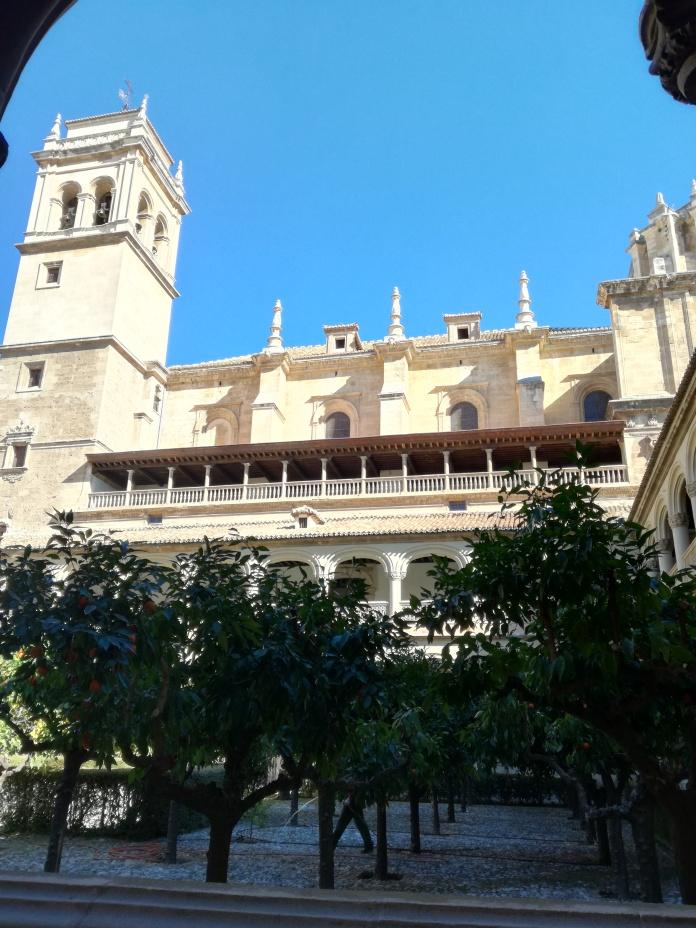 Monasterio de San Jerónimo. Claustro. Patio. Granada. Foto: Francisco López