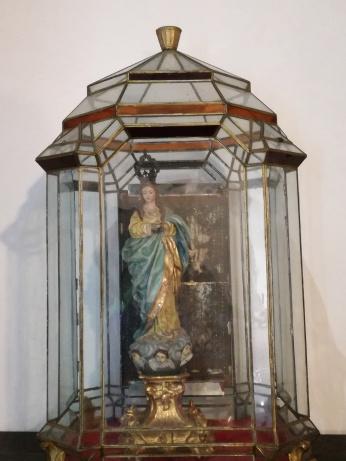 Monasterio de San Jerónimo. Inmaculada. Granada. Foto: Francisco López