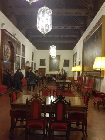 Hospital Real.Sala de Rectores o Cuarto Real. Granada. Foto: Francisco López