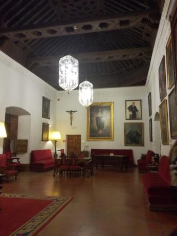 Hospital Real. Cuarto Real o Sala de Rectores. Granada. Foto: Francisco López