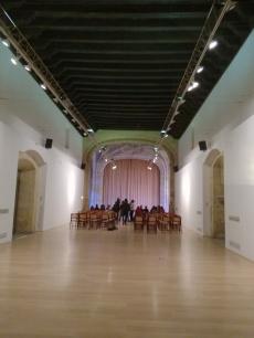 Hospital Real. Galería inferior. Granada. Foto: Francisco López