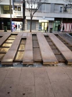 Avda. de la Constitución. Detalle. Granada