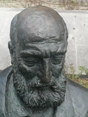 Pedro Antonio de Alarcón. Detalle. Foto: Francisco López