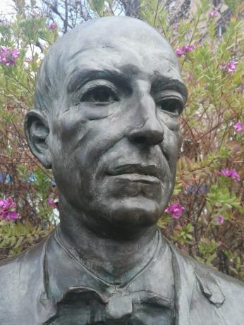 Manuel de Falla. Detalle. Foto: Francisco López