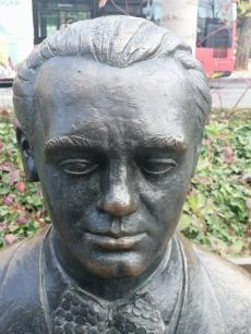 Federico García Lorca. Detalle. Foto: Francisco López