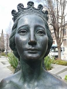 Eugenia de Montijo. Detalle. Foto: Francisco López