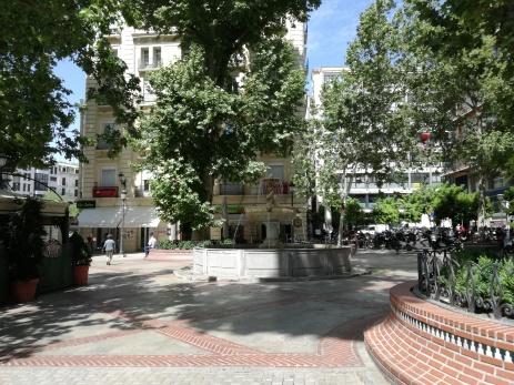 Plaza del Campillo. Fuente. Foto: Francisco López