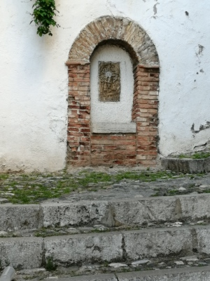 Pilar del Viacrucis
