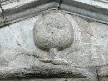 Pilar de la Cuesta del Realejo. Detalle. Granada. Foto: Francisco lópez