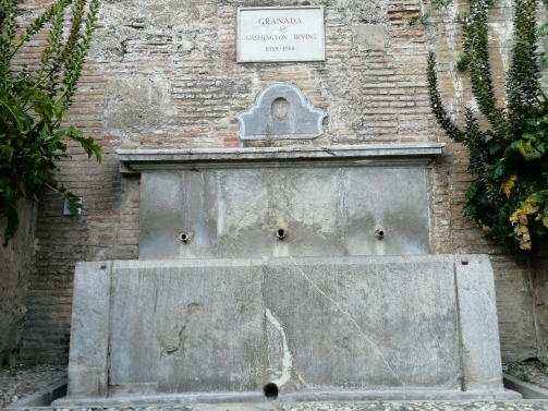 Pilar de Washington Irving