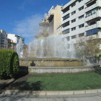 Fuente de las Batallas. Granada. Foto: Francisco López